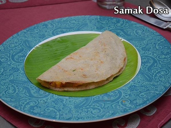 Samak Dosa Recipe | Samo Rice Dosa Recipe | Samavat Rice Dosa For Vrat