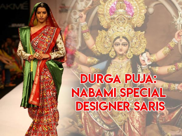 Durga Puja: Nabami Special Designer Sarees