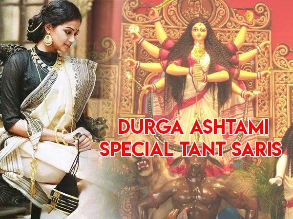 Durga Puja Ashtami Special: Types Of Tant Saris
