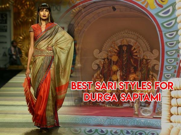 Durga Puja: Saptami Special Bengal Silk Saris