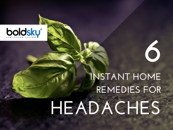 6 Instant Home Remedies for Headaches and Migraines
