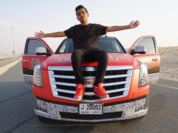 Richest Kid In Dubai >> Rashed Belhasa A Rich Kid From Dubai Is Ruling Social Media