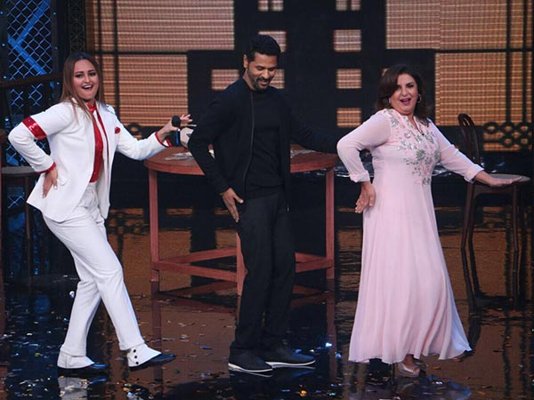sonakshi sinha at dance reality show