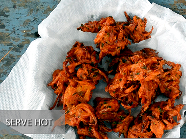 onion pakora recipe
