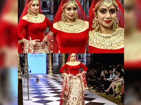 sridevi at times fashion week