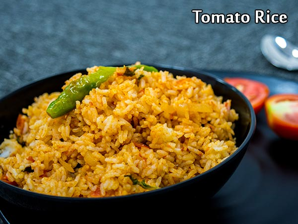Tomato Rice Recipe: How To Make South Indian Tomato Bhath