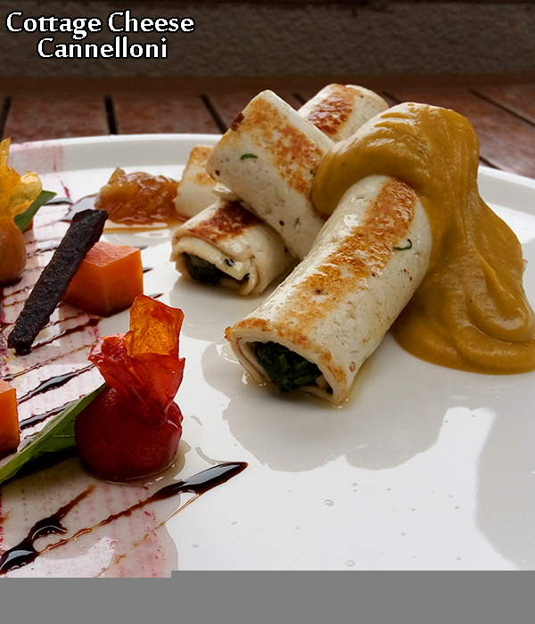 cottage cheese cannelloni recipe