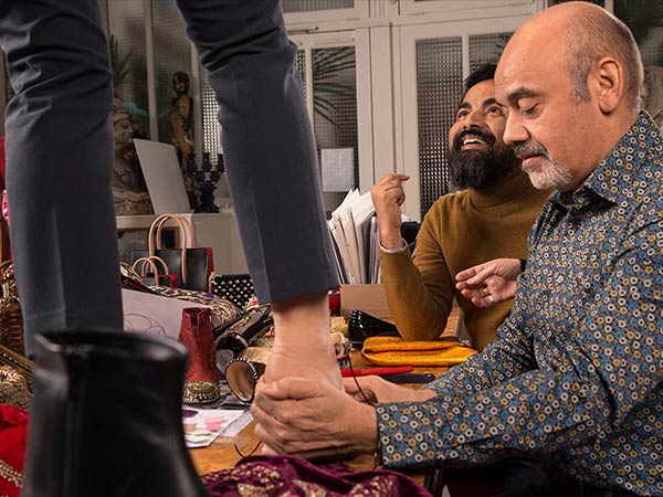sabyasachi collaborates with christian louboutin