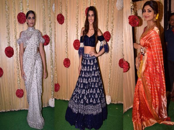 Bolly Divas At Ekta Kapoor's Diwali Bash