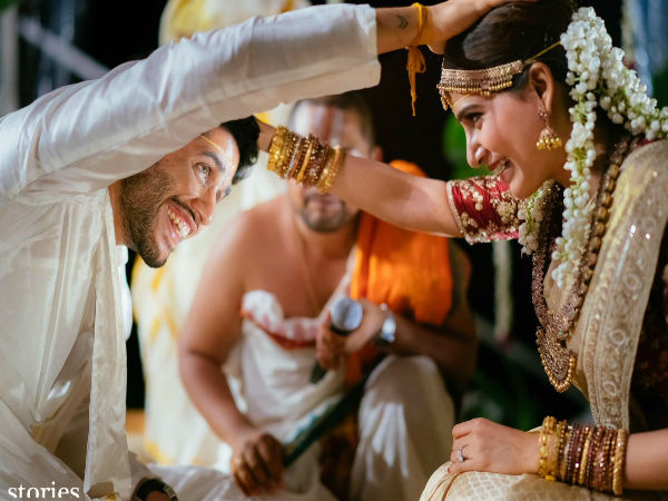 chaitanya and samantha wedding