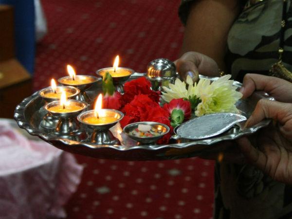 Lakshmi Pooja During Diwali