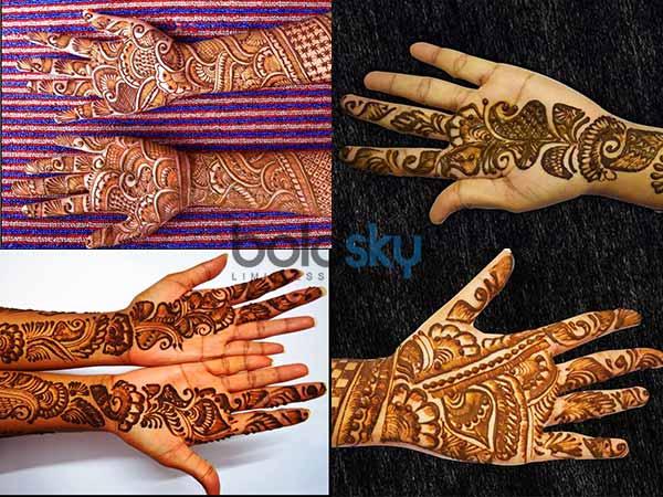 Mehndi Hand With Eye : Eye catchy mehendi designs for karwa chauth boldsky