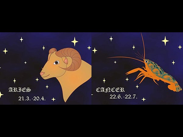 Aries dan Cancer (boldsky.com)