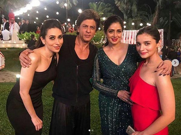 celebs at shah rukh khan house party