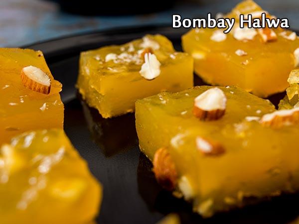 Bombay Halwa Recipe | Bombay Karachi Halwa Recipe | Corn Flour Halwa Recipe