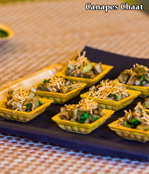 canapes chaat recipe