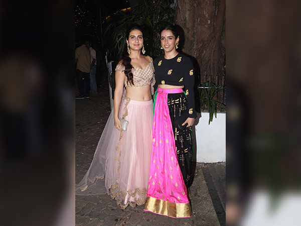 Dangal Girls Rocked Their Diwali Looks At Aamir Khan's Party