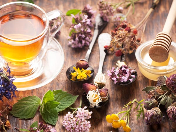 herbal tea rinses for hair growth