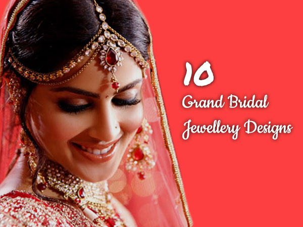 10 Jewellery Styles To Cover Your Wedding Ceremonies In A Grand Way