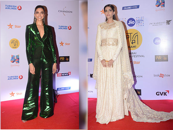 MAMI Film Festival Closing Ceremony: Sonam's Stunning Attire To Deepika's Style Disappointment