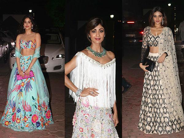 Divas And Dappers At Shilpa Shetty's Diwali Bash