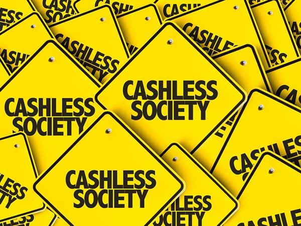 a cashless society