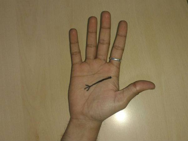 Do You Have A Trident Sign On Your Palm? - Boldsky com