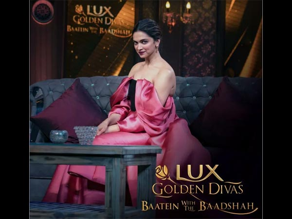 deepika padukone at baatein with baadshah