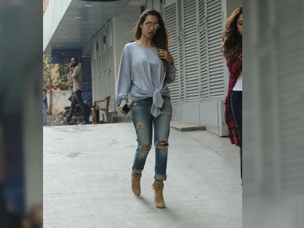 malaika arora spotted wearing casuals