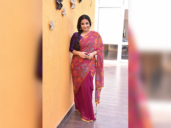vidya balan look at tumhari sulu success party