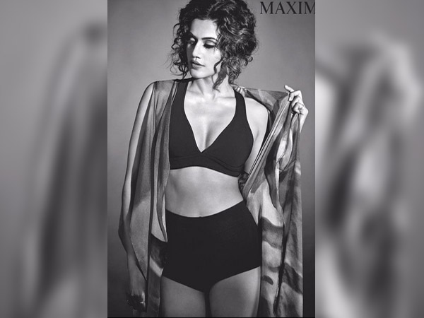 taapsee pannu on maxim cover