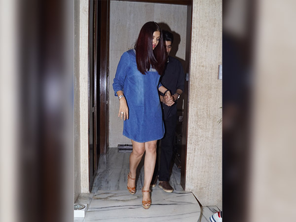 aishwarya in casuals at a party