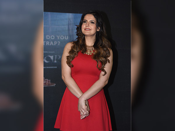 zarine khan style at aksar 2 trailer launch