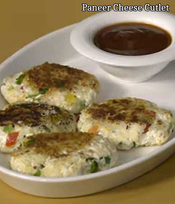 how to prepare cottage cheese cutlet recipe