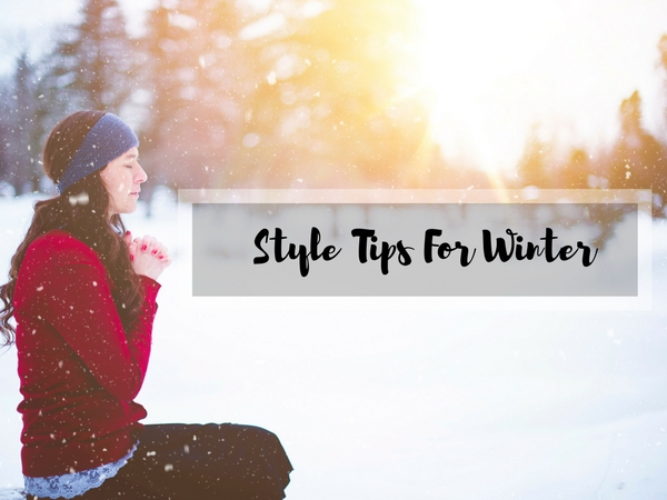 tips to stay stylish in winter