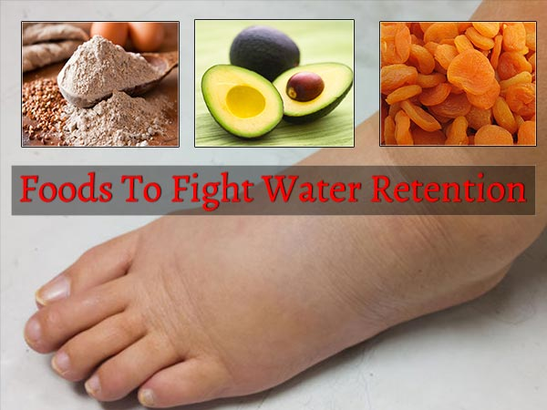 foods to fight water retention