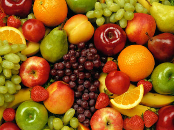 fruits low in sugar,