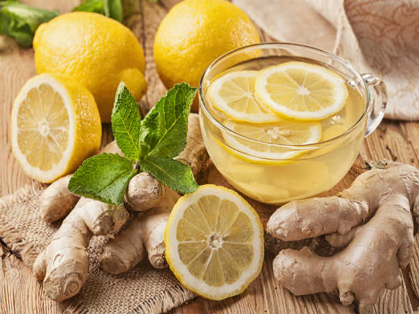 Consume Lemon-Ginger Water Everyday For Weight Loss & Other Benefits