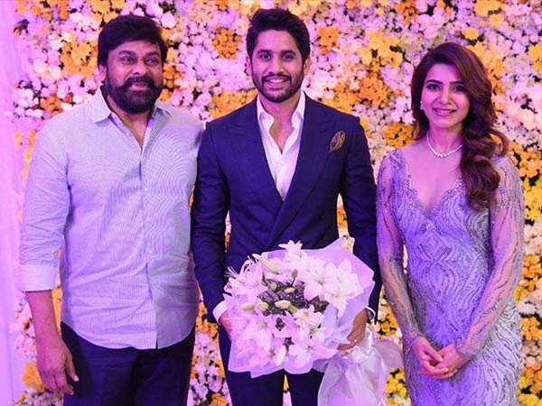 naga chaitanya samantha reception