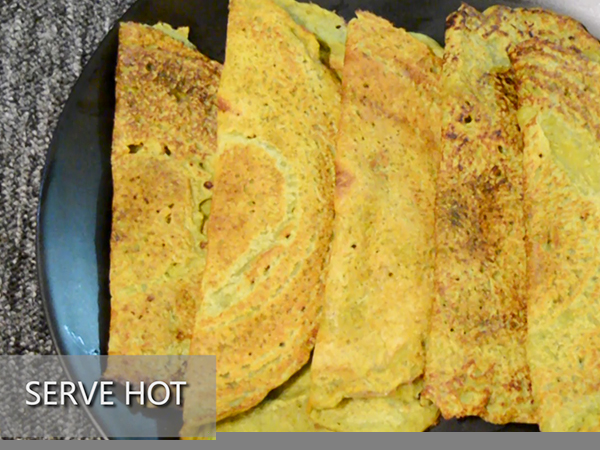 green peas and moong dal chilla recipe