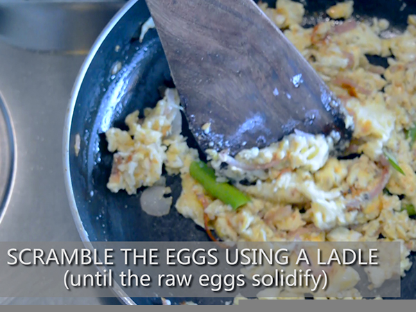 Egg bhurji recipe
