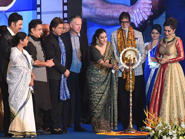 bollywood celebs at kolkata international film festival inauguration