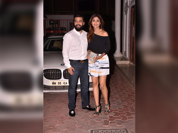 shilpa shetty anniversary celebration