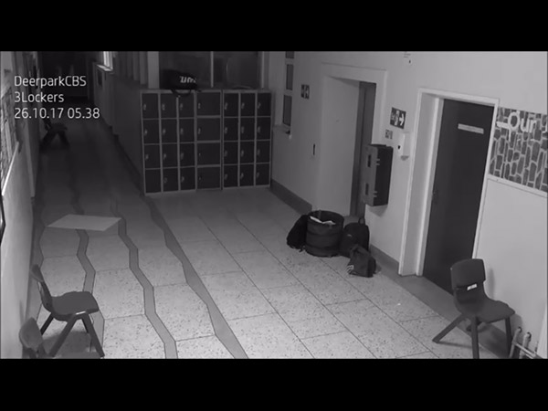 'Ghost' Caught On Camera; Haunting Images From A High School