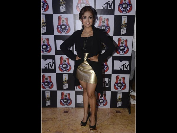 monali thakur at mtv unplugged press conference