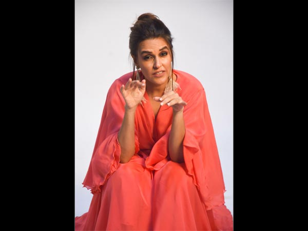 Neha Dhupia Was Peach-ing Amazingly For Vogue BFFs' Promo ...
