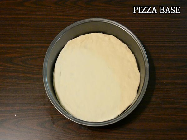 Pizza Base Recipe | How To Prepare Pizza Dough At Home