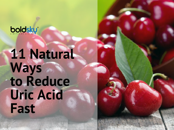 how to reduce uric acid fast