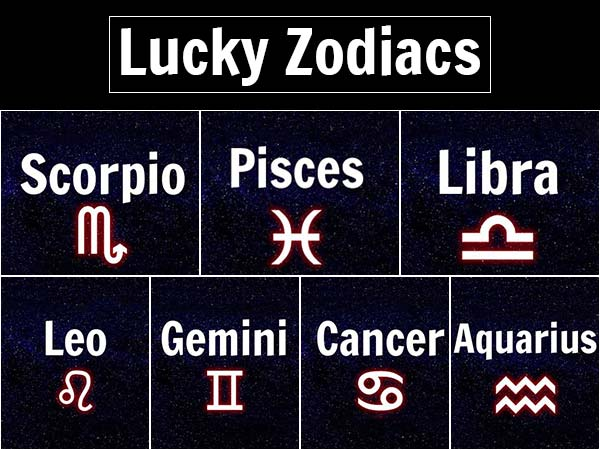 Find Out If Your Zodiac Sign Will Be Lucky Or Unlucky In