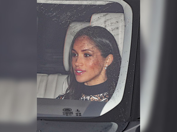 meghan markle at royal chritmas party